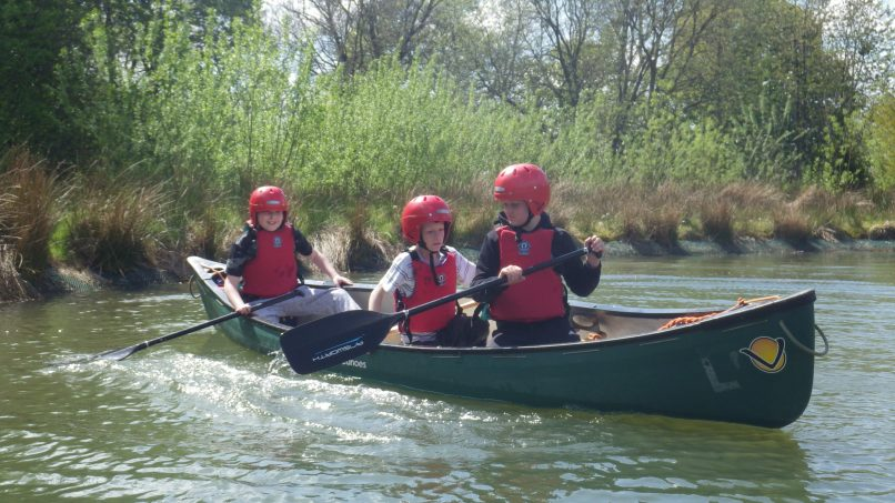 Canoeing/Raft Building